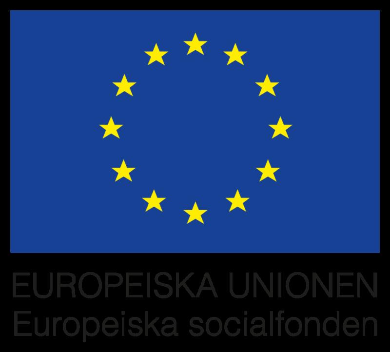 Projektet finansieras av Europeiska socialfonden